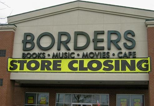 Borders, ülke genelinde son kalan 399 şubesini de kapatacağını açıkladı.