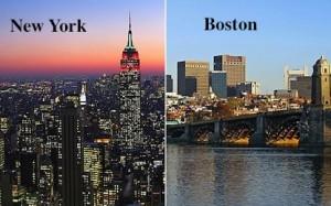 How Far Is New York From Boston >> Iki Sehrin Hikayesi Ya Da Bitmez Boston New York Rekabeti