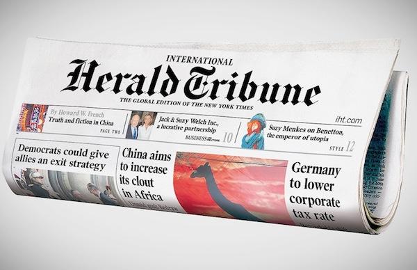 international-herald-tribune-iht-ny-times