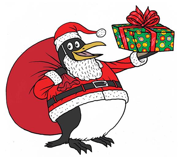 noel-baba-penguen