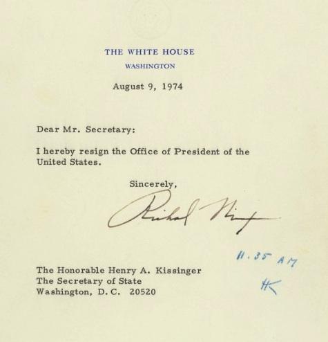 Nixon-resignation-istifa-amerika-bulteni