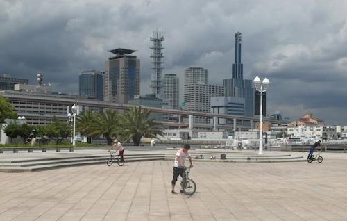 1995 depreminde yerle bir olan ve yeniden inşa edilen Kobe, Japon kozmopolitanizminin merkezi.  (Foto: Cemal Tunçdemir)